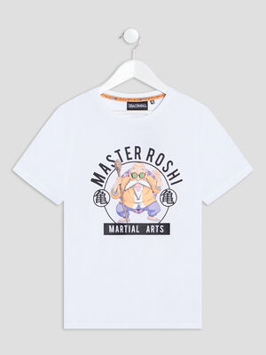 T shirt Dragon Ball blanc garcon