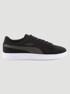 Tennis Puma SMASH BUCK noir homme