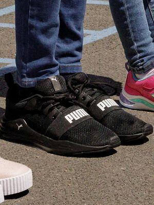 Runnings Puma noir garcon