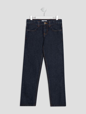 Jeans regular denim brut garcon