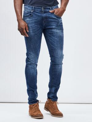 Jeans slim denim stone homme