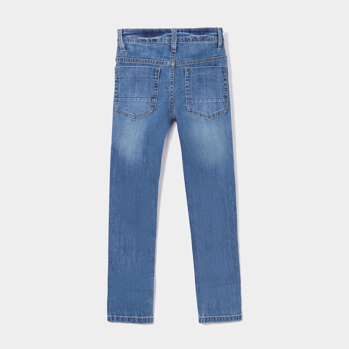 Jeans slim effet stretch garçon denim double stone