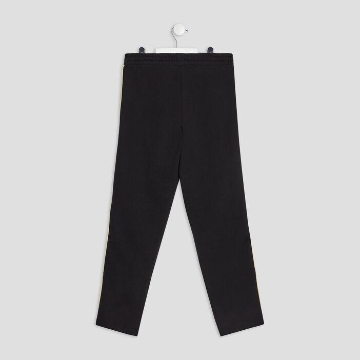 Pantalon jogging slim fille noir