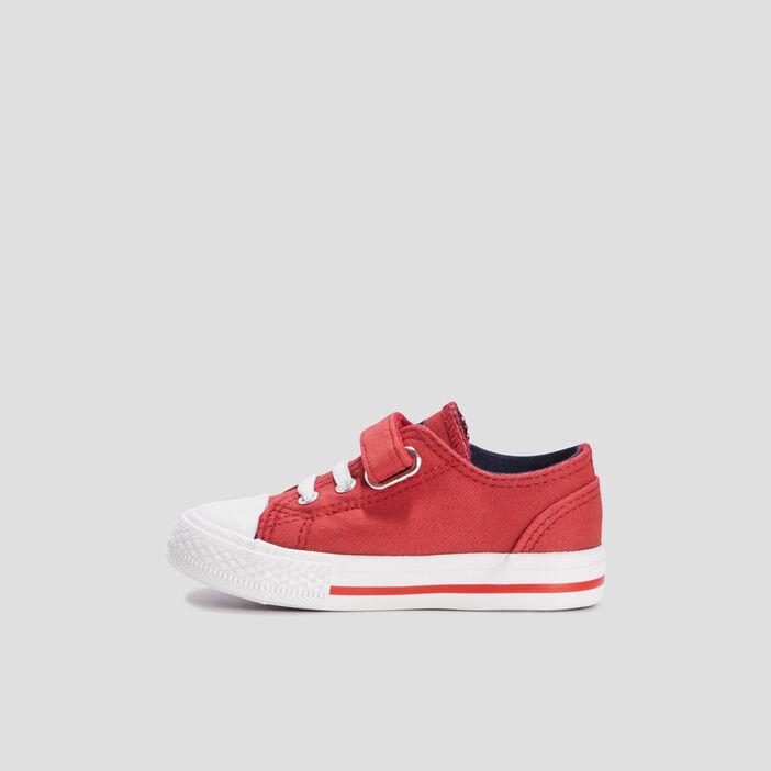 Baskets tennis bébé garçon rouge