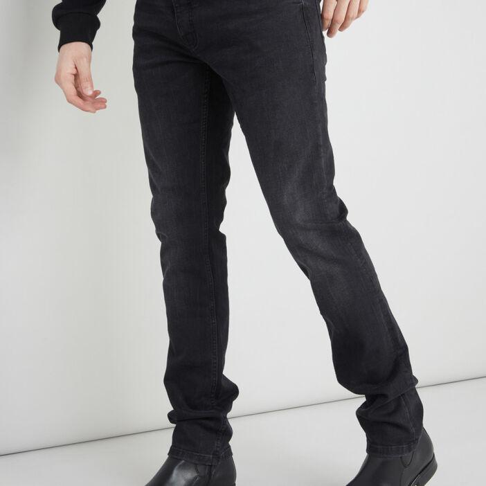 Jean slim 5 poches homme noir