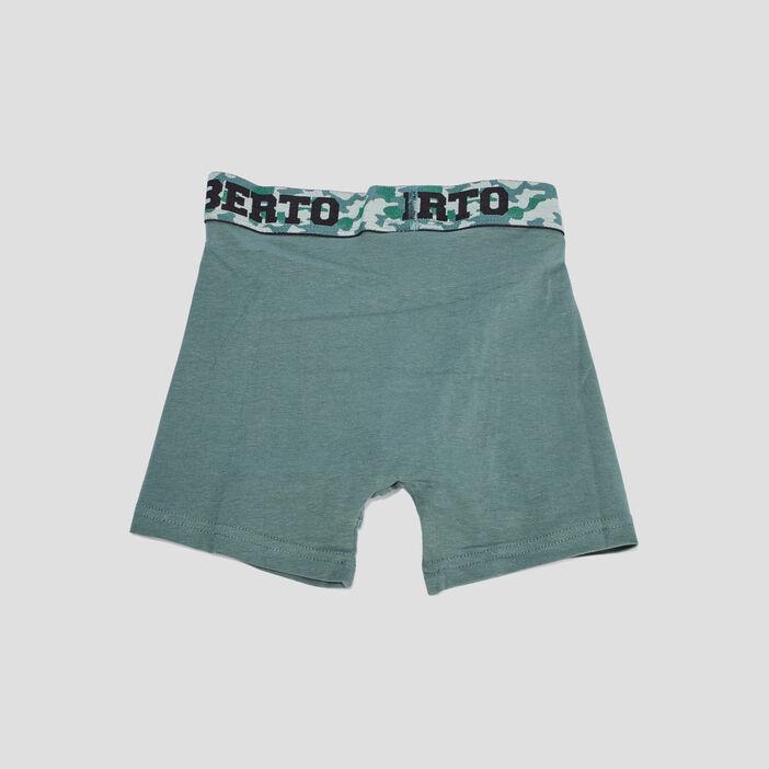 Lot 3 boxers Liberto homme vert kaki