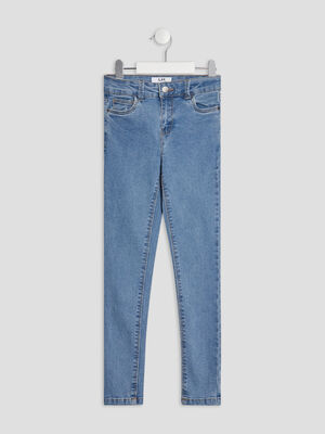 Jeans slim taille standard denim double stone fille