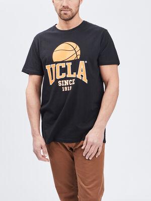 T shirt manches courtes UCLA noir homme