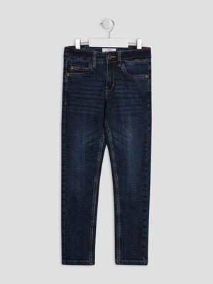 Jeans slim denim brut garcon