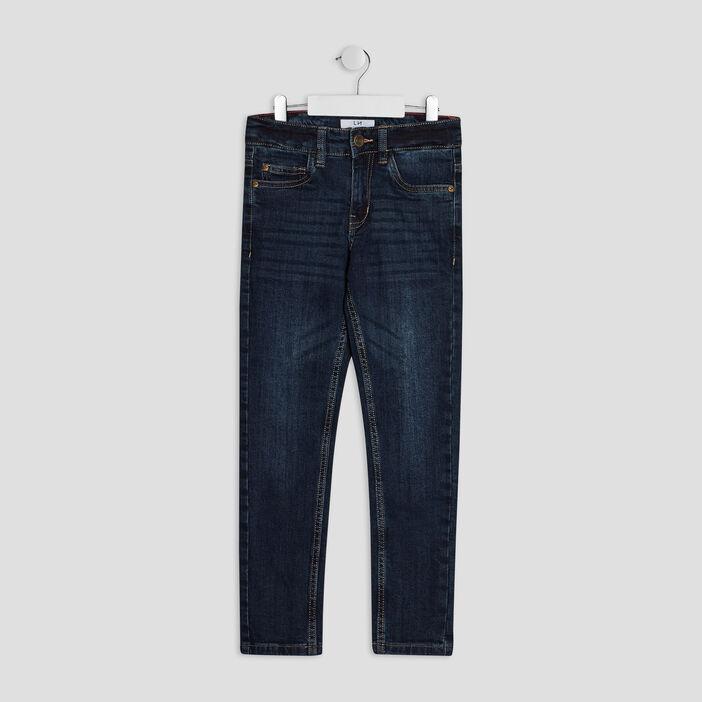 Jeans slim garçon denim brut