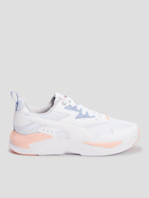 Runnings Puma blanc fille