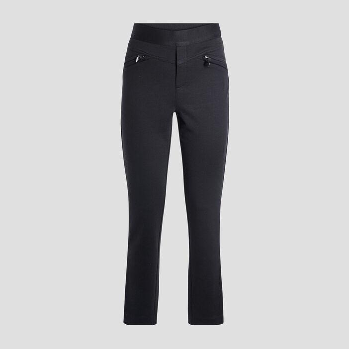 Pantalon ajusté 7/8ème femme noir
