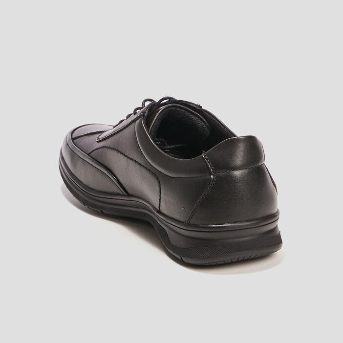 Sneakers à lacets homme noir