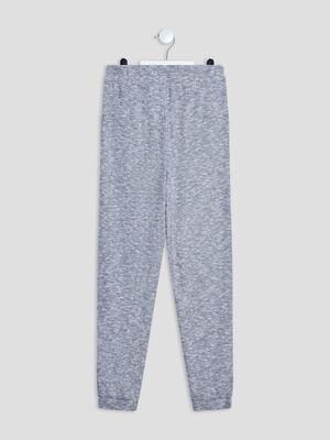 Pantalon de pyjama gris fille