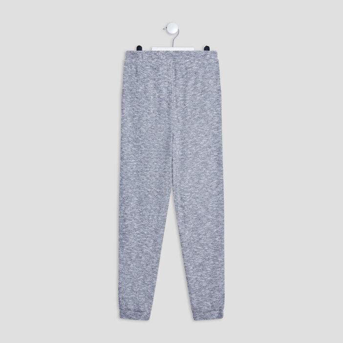 Pantalon de pyjama fille gris