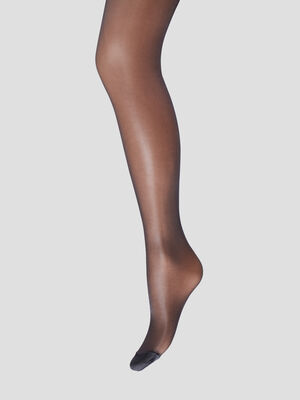 Lot 2 collants DIM noir mixte