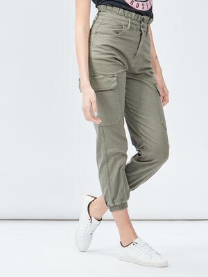 Pantalon battle Liberto vert kaki femme