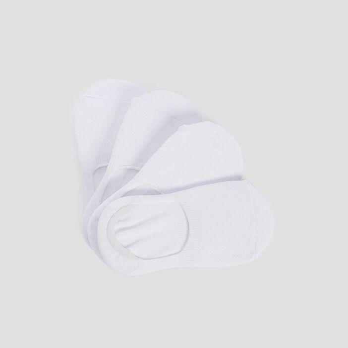 Socquettes protège-bas  blanc