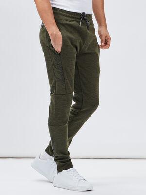 Pantalon jogging Liberto vert kaki homme