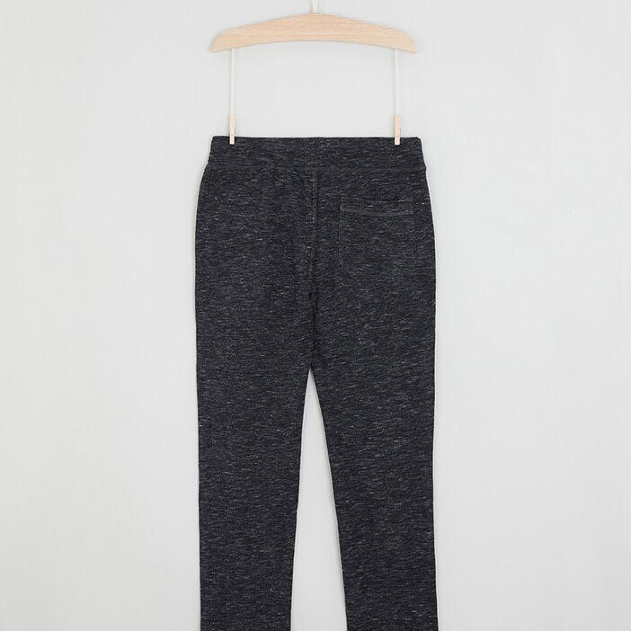 Pantalon de jogging uni garçon gris foncé