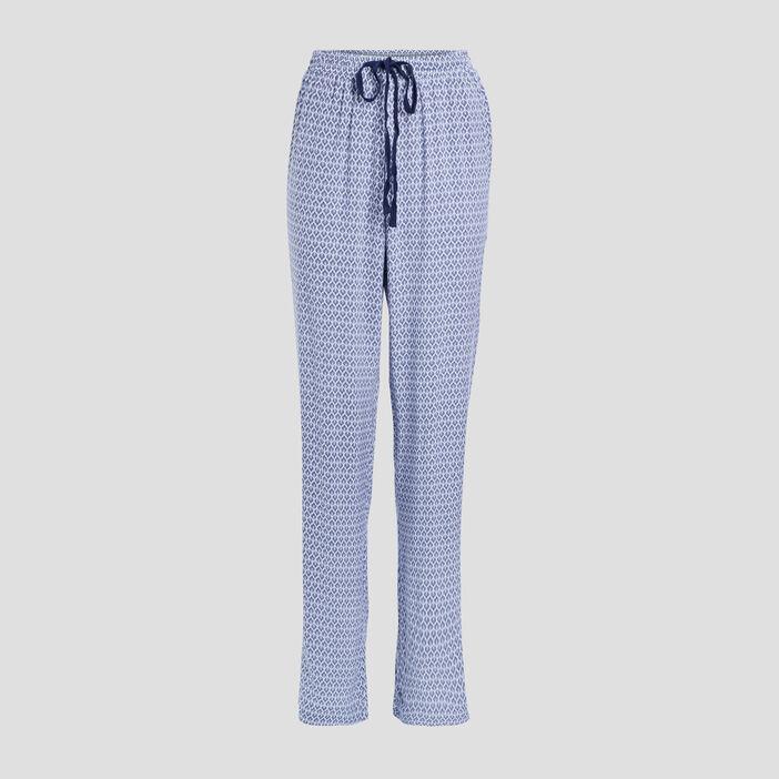 Pantalon de pyjama femme bleu marine