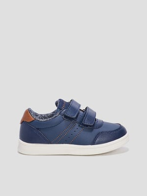 Baskets tennis Creeks bleu marine garcon