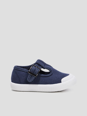 Sandales salome bleu bebeg