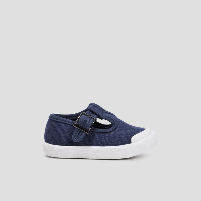 Sandales salomé bébé garçon bleu