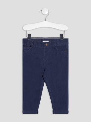 Pantalon droit bleu marine bebeg