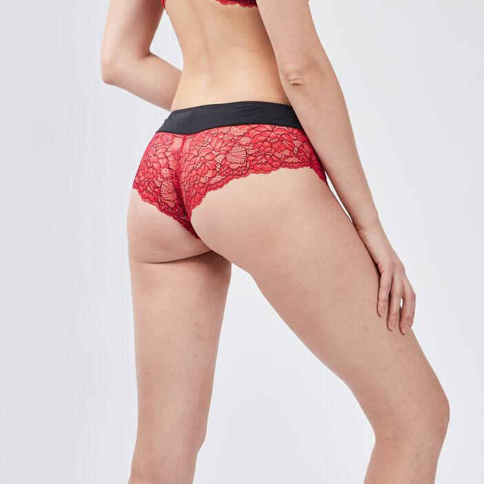Soutien-gorge push up femme rouge