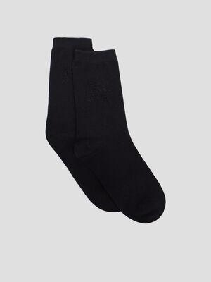 Chaussettes noir femme