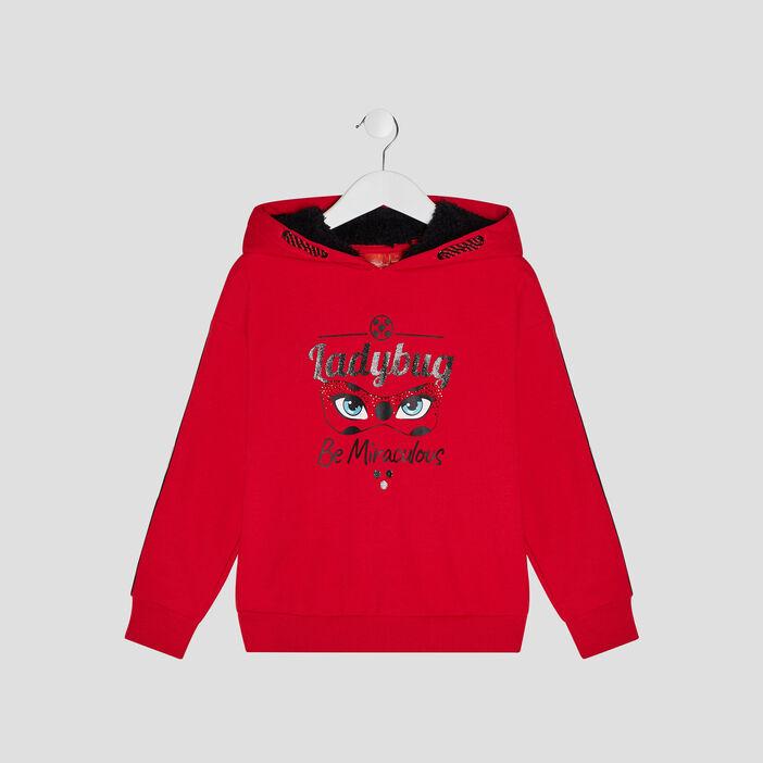 Sweat Miraculous Ladybug fille rouge