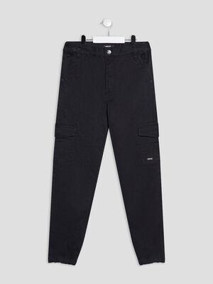 Pantalon battle stretch noir fille