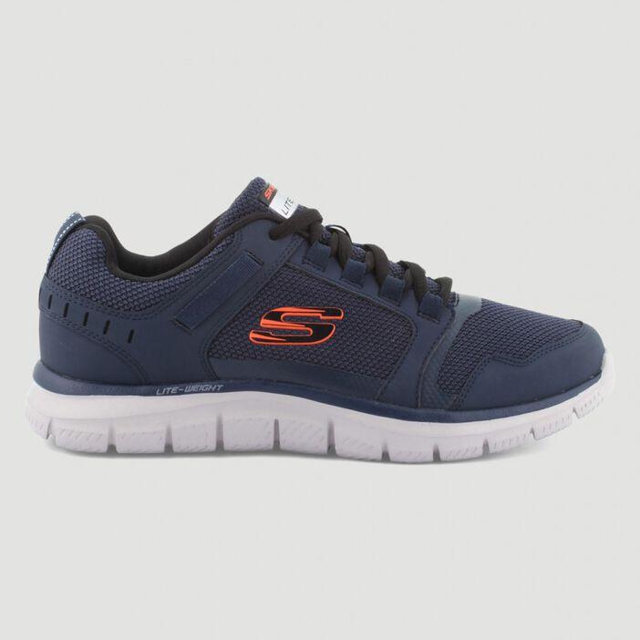 Runnings Skechers TRACK KNOCKHILL homme bleu marine