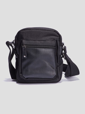 Sac uni porte travers noir mixte