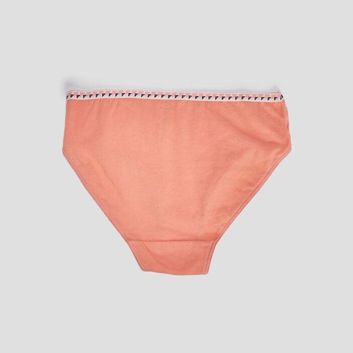 Lot 5 culottes fille orange