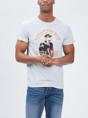 T shirt Peaky Blinders gris homme