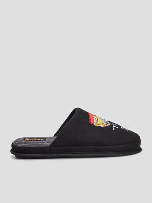 Chaussons mules Garfield multicolore homme