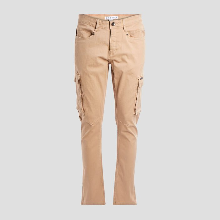 Pantalon battle stretch Creeks homme beige