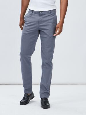Pantalon regular bleu gris homme