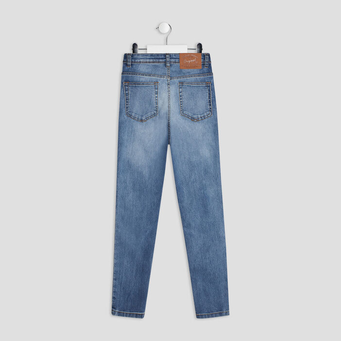 Jeans skinny cropped fille denim double stone