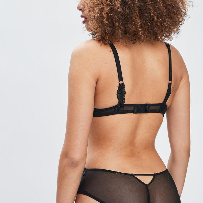 Soutien-gorge maxi push-up femme noir