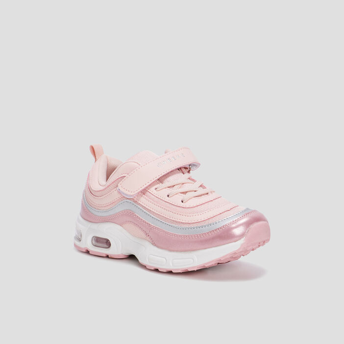 Baskets running à bulle Creeks fille rose