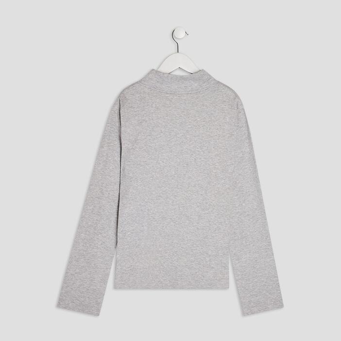 T-shirt manches longues garçon gris