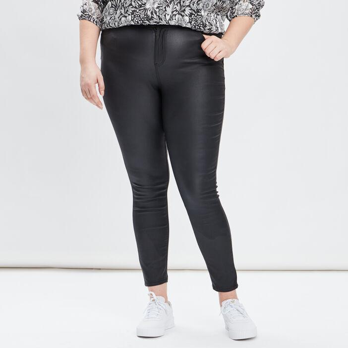 Pantalon skinny grande taille femme grande taille noir