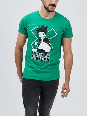 T shirt Hunter X Hunter vert homme