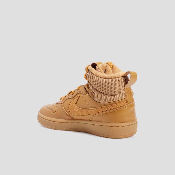 Baskets montantes Nike garçon beige