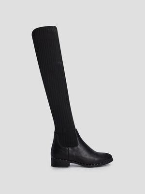Cuissardes chaussettes Liberto noir femme