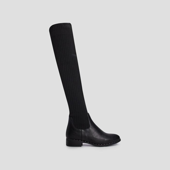 Cuissardes chaussettes Liberto femme noir