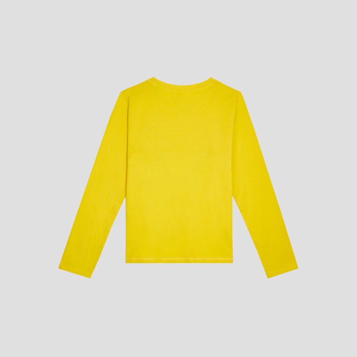 T-shirt Pokémon garçon jaune moutarde